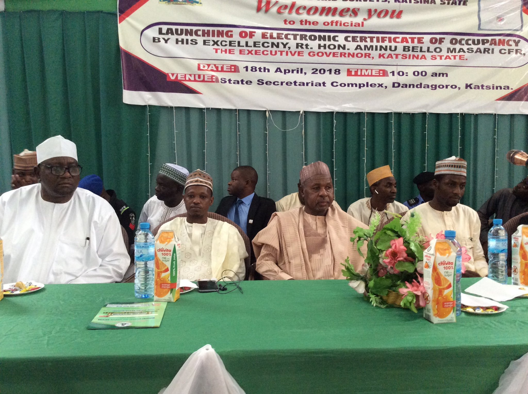 Katsina state government introduces electronic Certificate of Occupancy