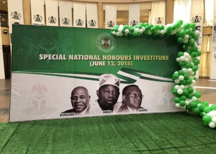 """""""A Wrong was committed"""": President Buhari apologises to MKO Abiola's Family"""