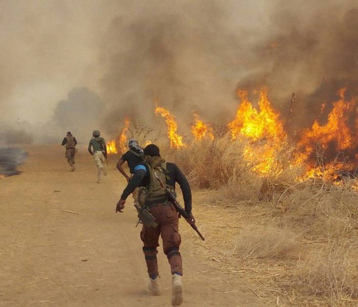 Gallant Troops hailed after repelling Boko Haram in Guzamala