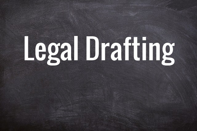 Important Words for Legal Drafting
