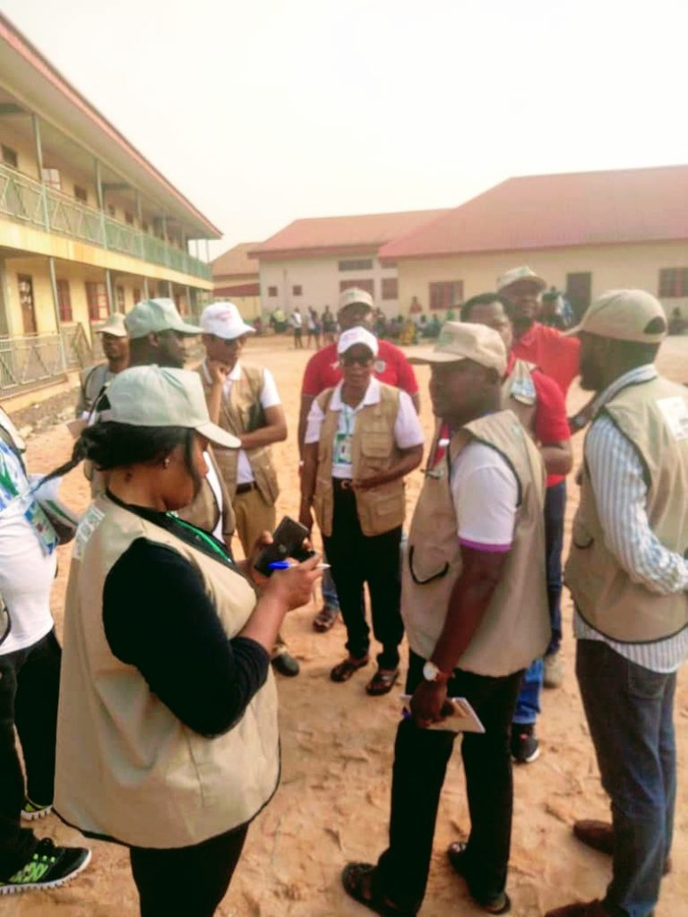 NBA Benin branch election observers team