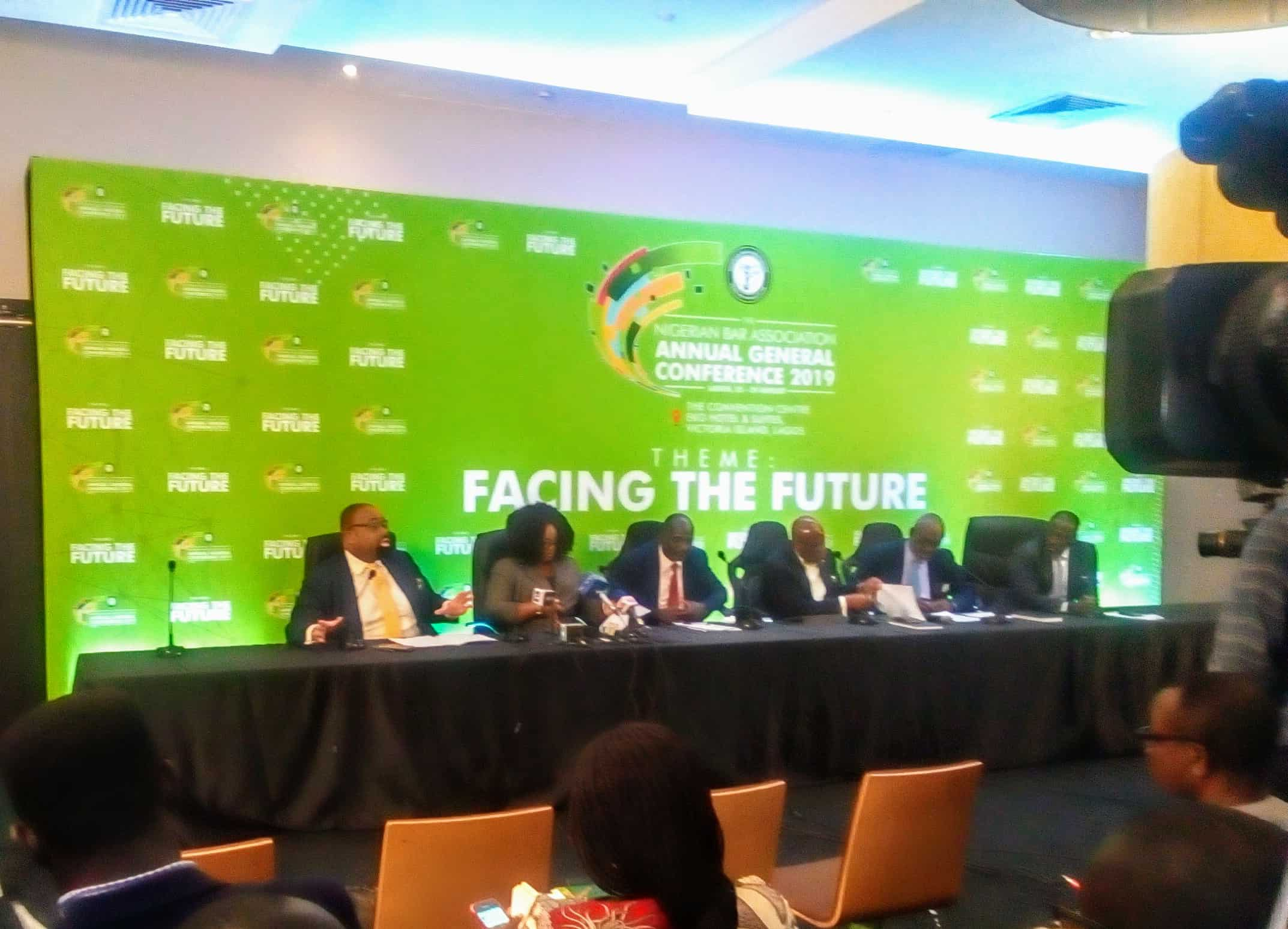 #NBA2019AGC Press Briefing Happening Now  We are Ready!
