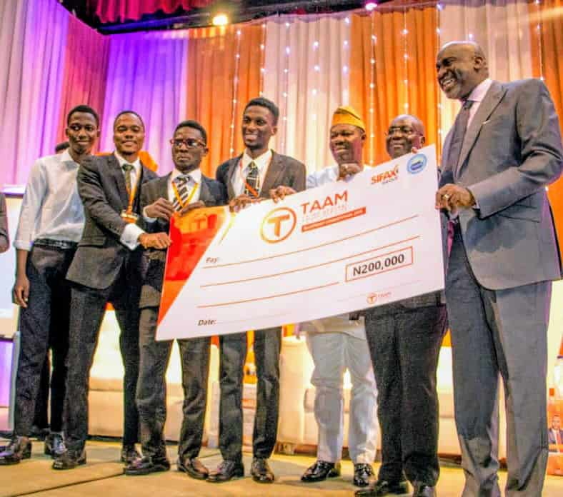 4th TAAM Conference: LASU Wins National Maritime Blue Print Competition