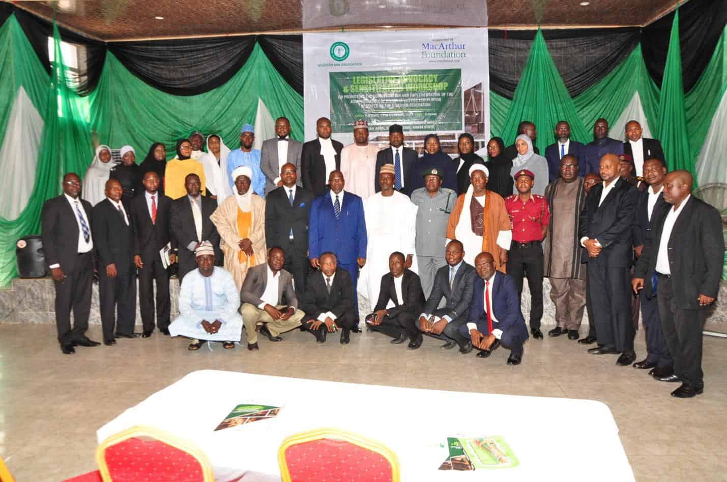 NBA Calls on Kebbi State to Domesticate the Administration of Criminal Justice Act, 2015
