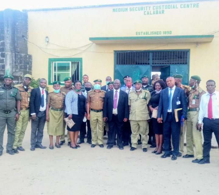 Covid-19: Relief for Inmates, as Acting Chief Judge Pardons 137 in Calabar