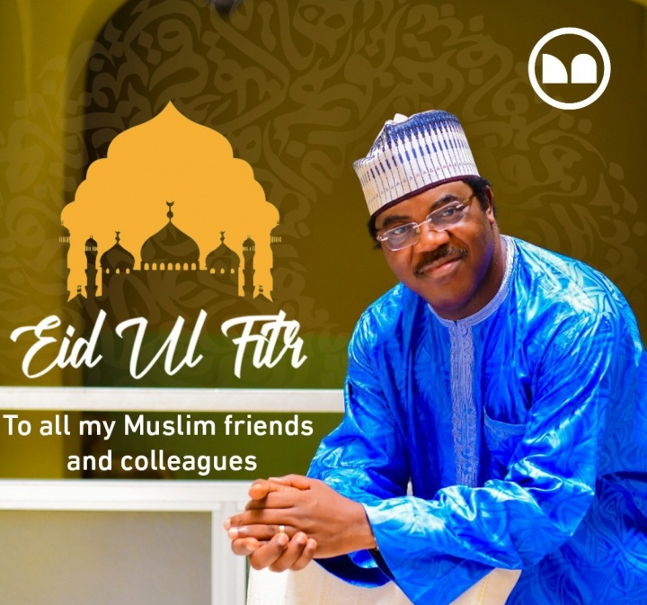 On this Joyous Day I Wish You and Your Family a Very Happy Eid-El-Fitri | Dele Adesina SAN