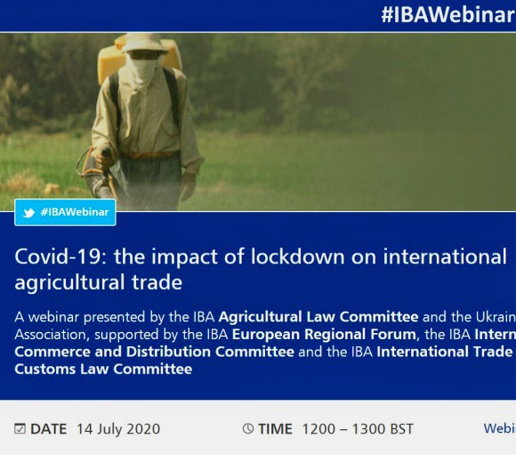 Covid-19: The Impact of Lockdown on International Agricultural Trade