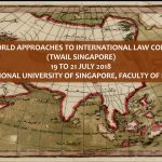 National University of Singapore to Host Third World Approaches to International Law Conference 2018