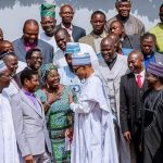 """Plateau: President Buhari meets Christian Leaders, says """"to suggest that I am doing Nothing is terribly Unfair."""