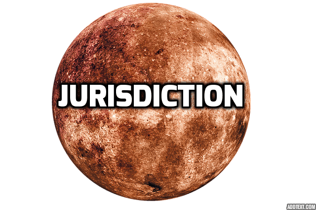 When Jurisdiction is challenged, the only Jurisdiction a Court has is to determine whether it has Jurisdiction