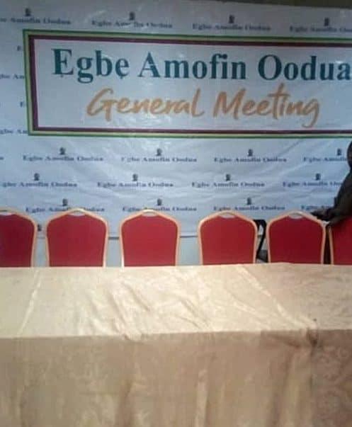 Egbe Amofin General Meeting