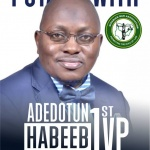 PROFILE: Adedotun Habeeb Adetunji for NBA 1st Vice President