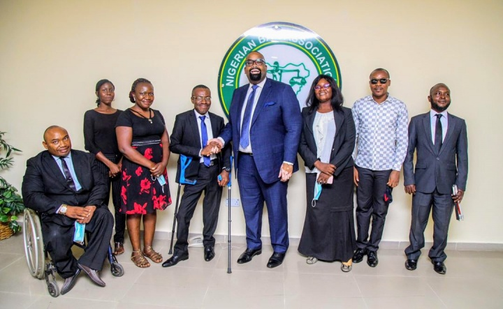 NBA President Olumide Akpata Restates Strong Commitment to Lawyers with Disabilities