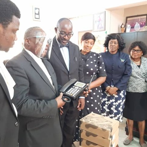 NBA Ibadan Branch Presents Telephone Lines to Oyo State Judiciary to Promote Effective Service Delivery